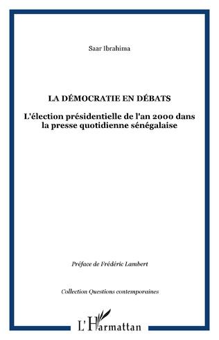 Couverture La démocratie en débats