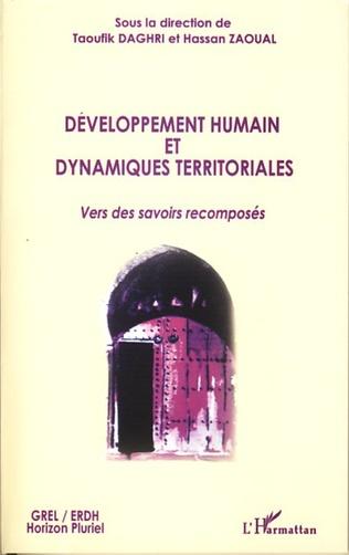 Couverture Développement humain et dynamiques territoriales
