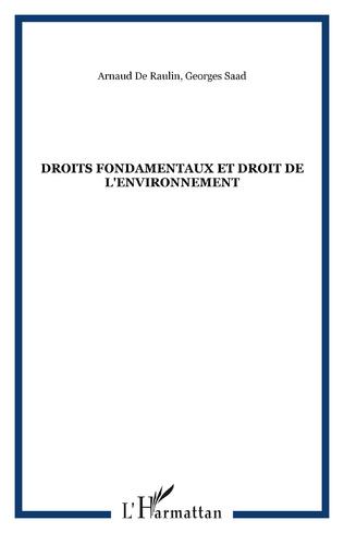 Couverture Droits fondamentaux et droit de l'environnement