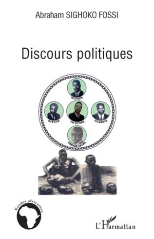 Couverture Discours politiques