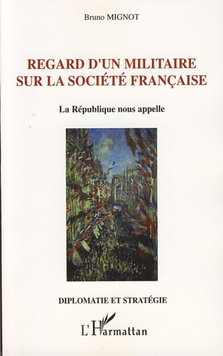 Couverture Regard d'un militaire sur la société française