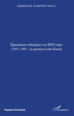 Couverture Epurations ethniques en RDCongo