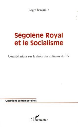 Couverture Ségolène Royal et le socialisme
