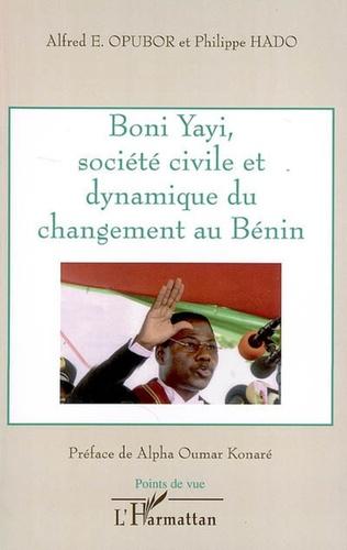 Couverture Boni Yayi, société civile et dynamique du changement au Bénin