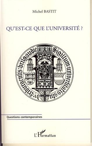 Couverture Qu'est-ce que l'université ?