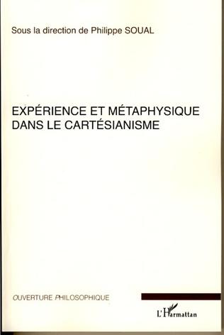Couverture Expérience et métaphysique dans le cartésianisme