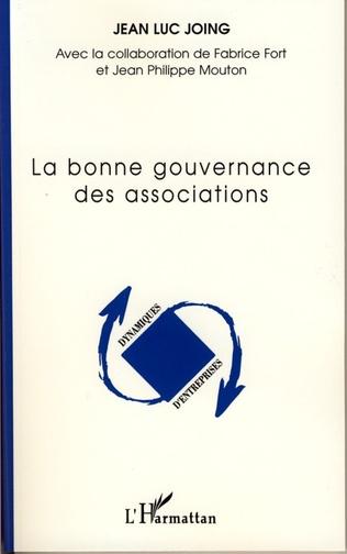 Couverture La bonne gouvernance des associations