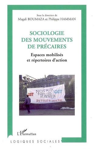 Couverture Sociologie des mouvements de précaires