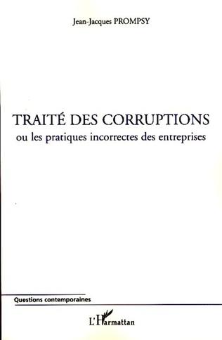 Couverture Traité des corruptions