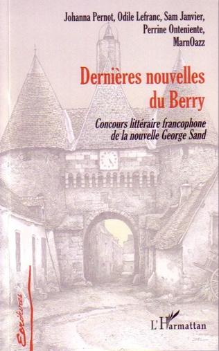 Couverture Dernières nouvelles du Berry