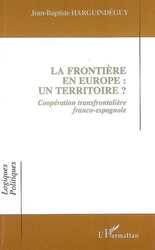 Couverture La frontière en Europe : un territoire ?