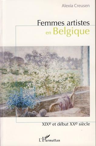 Couverture Femmes artistes en Belgique