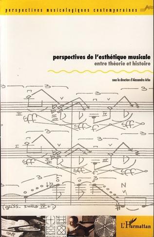 Couverture Perspectives de l'esthétique musicale