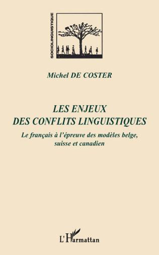 Couverture Les enjeux des conflits linguistiques