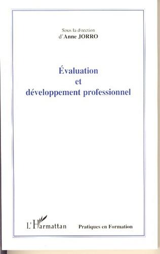 Couverture Evaluation et développement professionnel