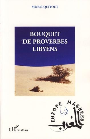 Couverture Bouquet de proverbes libyens