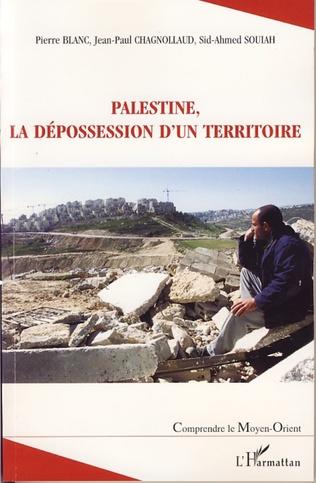 Couverture Palestine, la dépossession d'un territoire