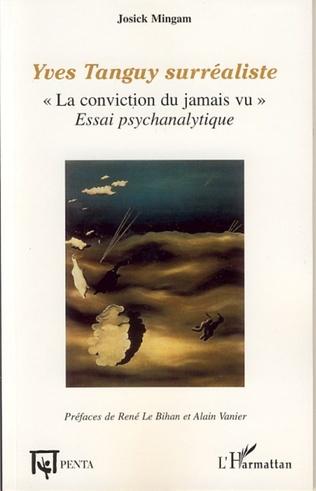Couverture Yves Tanguy surréaliste