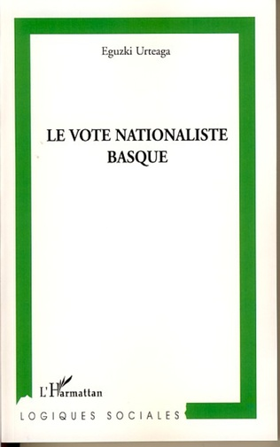 Couverture Le vote nationaliste basque