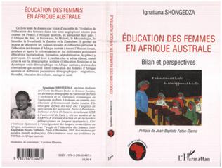 Couverture Education des femmes en Afrique australe