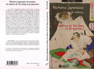 Couverture Histoires japonaises de moines, de maîtres du Yin-Yang et de guerriers