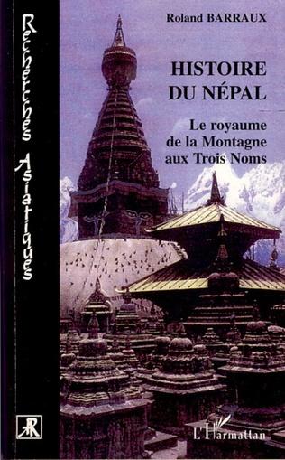 Couverture Histoire du Népal