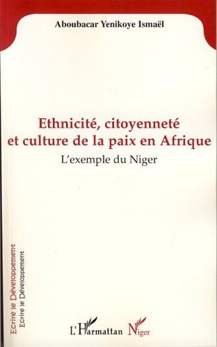 Couverture Ethnicité, citoyenneté et culture de la paix en Afrique