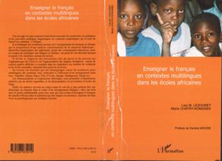 Couverture Enseigner le français en contextes multilingues dans les écoles africaines