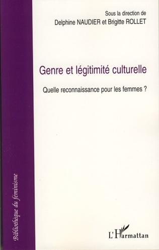 Couverture Genre et légitimité culturelle