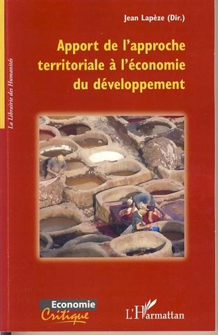 Couverture Apport de l'approche territoriale à l'économie du développem