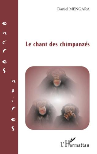 Couverture Le chant des chimpanzés