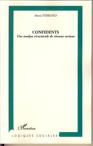 Couverture Confidents