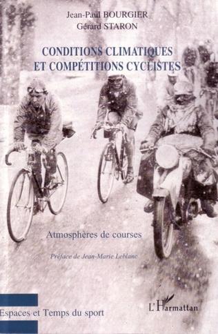 Couverture Conditions climatiques et compétitions cyclistes