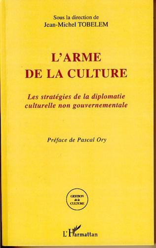 Couverture L'arme de la culture