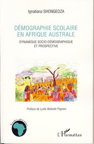 Couverture Démographie scolaire en Afrique australe