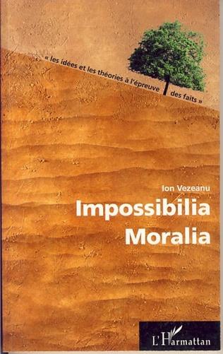 Couverture Impossibilia Moralia