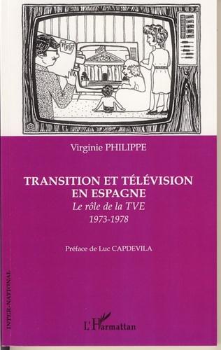 Couverture Transition et télévision en Espagne