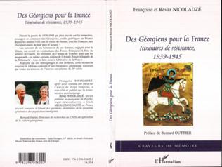 Couverture Des Géorgiens pour la France