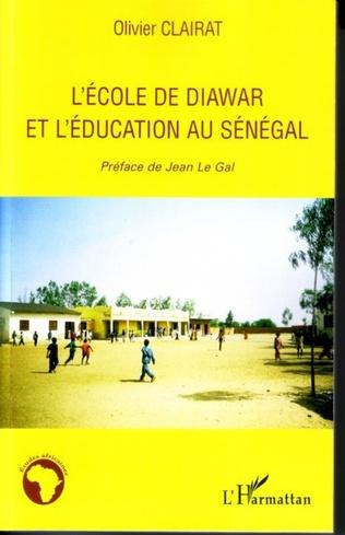 Couverture L'école de Diawar et l'éducation au Sénégal