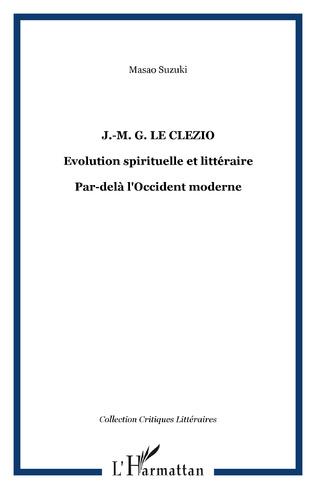 Couverture J.-M. G. Le Clezio