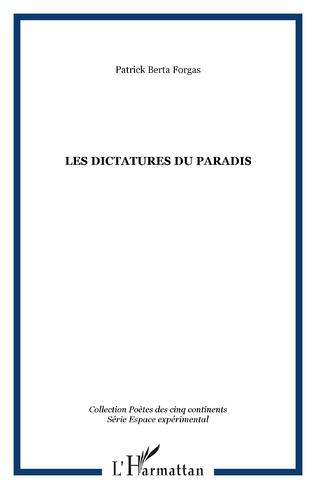 Couverture Les dictatures du paradis