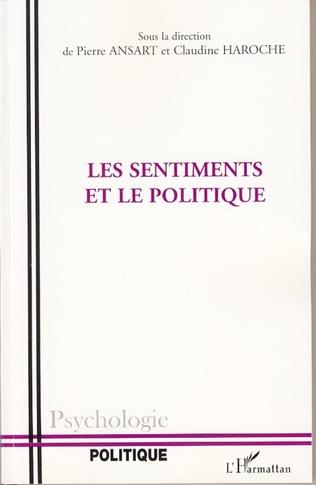 Couverture Les Sentiments et le politique