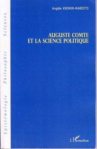 Couverture Auguste Comte et la science politique