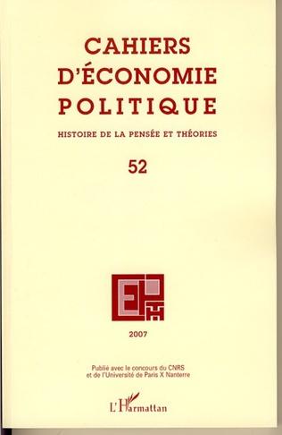 Couverture Histoire de la pensée et théorie