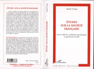 Couverture Etudes sur la société française