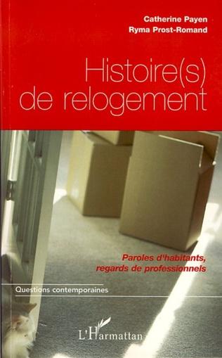 Couverture Histoire(s) de relogement