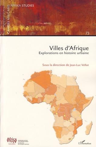 Couverture Villes d'Afrique