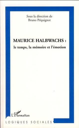 Couverture Maurice Halbwachs