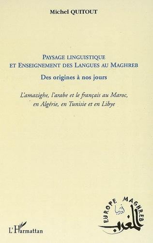 Couverture Paysage linguistique et Enseignement des langues au Maghreb