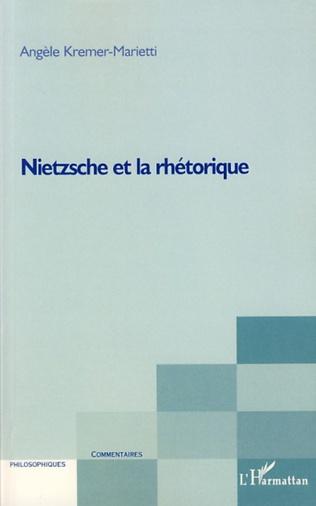 Couverture Nietzsche et la rhétorique